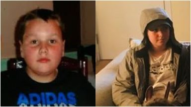Leon Williamson, 12, and 14-year-old Olivia Bryson