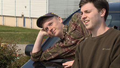 Luke Steven, 20, and Callum Duff, 21, will drive thousands of miles in the Mongol Rally.
