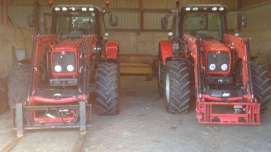Tractor: Stolen from farm in West Lothian.