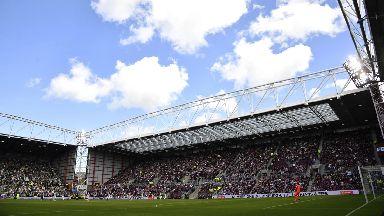 Tynecastle Stadium GV