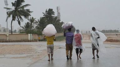At least 40 missing as cyclone nears Oman coast