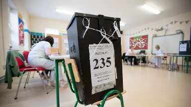 Polls close in Irish abortion referendum