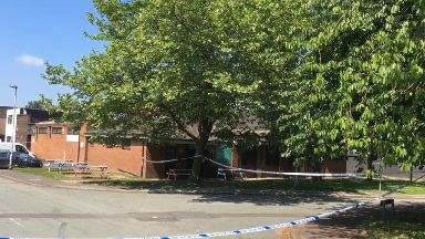 The incident happened outside the Salisbury Club, in Brinnington