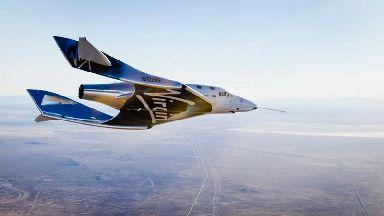 Virgin Galactic spacecraft in second powered test flight