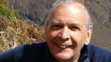 Missing hillwalker Ian Stalker from Edinburgh, aged 65.