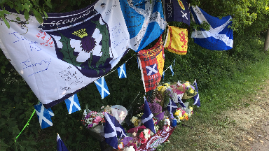 Tributes to man named locally as victim in Maybury Road crash.