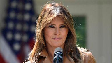Melania Trump will not join husband at presidential retreat