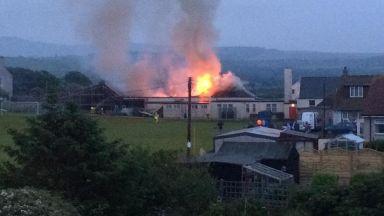Ballantrae Primary School fire