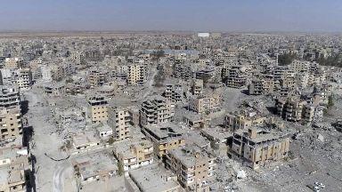 US-led coalition 'destroyed Syrian city of Raqqa'