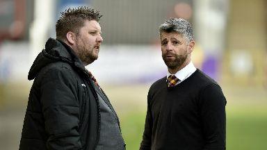 Alan Burrows and Stephen Robinson