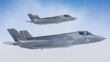 'Formidable' F-35 jets touch down at RAF Marham