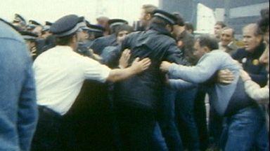 Miners' strike in Scotland in 1984/85