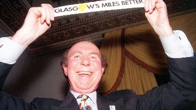 Former Glasgow Council leader Pat Lally