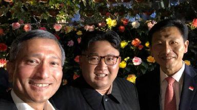 Kim Jong-un selfie