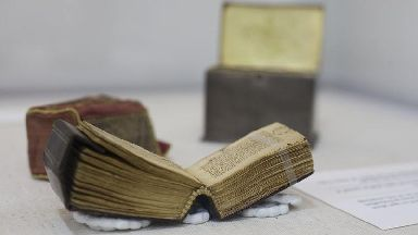 Tiny ancient Koran on display in Israel for Ramadan