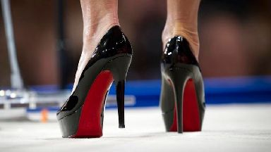 Christian Louboutin shoes.
