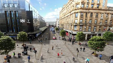 Illustration of what Argyle Street could potentially look like.