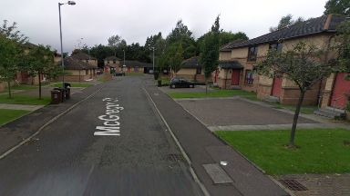 Wishaw: No one was injured in shooting. McGregor Street