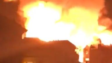 School of Art: Second fire in four years. Glasgow School of Art