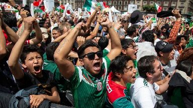 Mexico shakes with excitement over Germany World Cup win