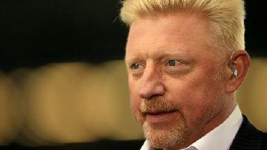Boris Becker was declared bankrupt in June 2017.