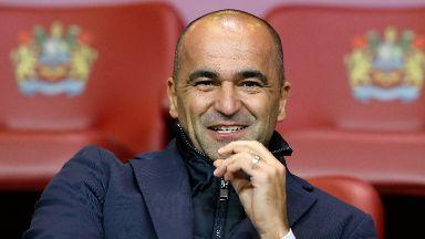 Belgium coach Roberto Martinez saw his team get off to a winning start.