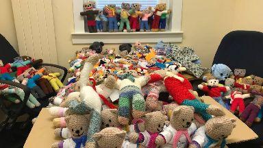 Teddies: Locals encouraged to help.
