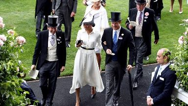 In Pictures: Hats off as Harry and Meghan join the Queen at Royal Ascot