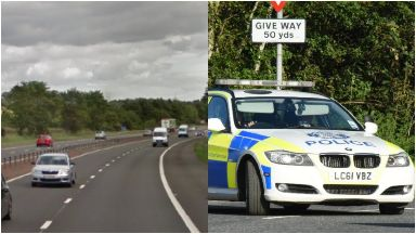 M9: Man pronounced dead at scene. Linlithgow