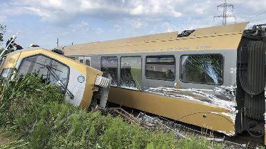Passengers injured as train derails in Austria
