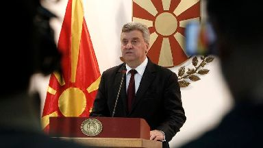 Macedonian president refuses to approve country's name change