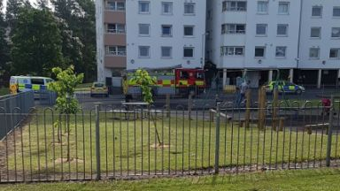 Lochee: Officers called to 'concern for person'. Burnside Court Dundee