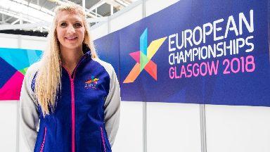 Rebecca Adlington Glasgow 2018 uniform