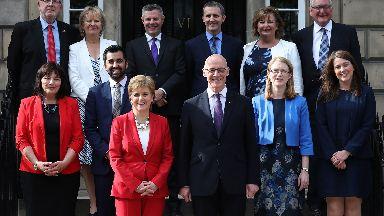 Nicola Sturgeon reshuffle June 26 2018.