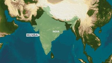 Mumbai was formerly known as Bombay.