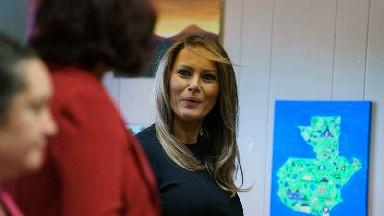 Melania Trump returns to border state amid separation outcry