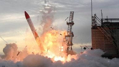 Japanese rocket explodes moments after lift-off