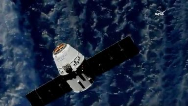 A robot, ice cream and mice: SpaceX makes delivery to astronauts