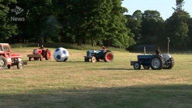 tractor football