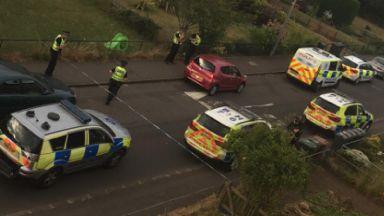 Edinburgh: Several police officers called. Magdalene Drive