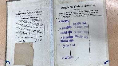 Overdue: Book was found in London.