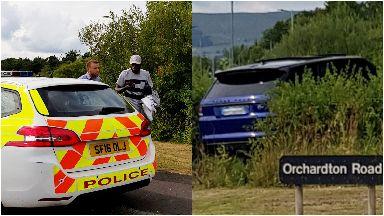 Crash: Olivier Ntcham left shaken after collision. Cumbernauld Celtic Mollins Road