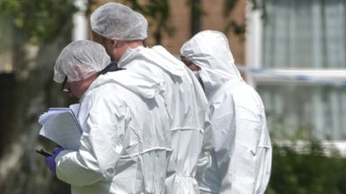 Discovery: Forensic officers were called. Forensic police generic