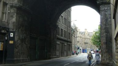 Death: Police are appealing for information. Cowgate  George IV Bridge