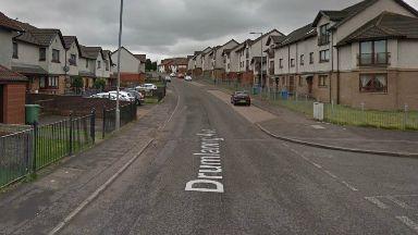 Drumlanrig Avenue in Easterhouse, Glasgow.