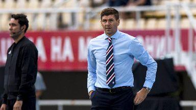 Demands: Gerrard wants better from attacking players.