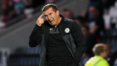 Unhappy: Stubbs slated his team.