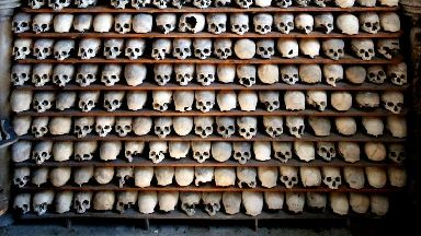 21 ancient skulls stolen from church collection