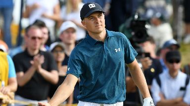 Jordan Spieth The Open 21 July 2018