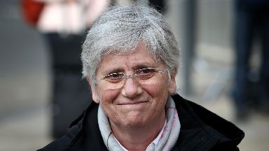 File photo dated 28/03/18 of former Catalan Minister Professor Clara Ponsati